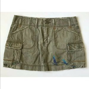 Old Navy Mini Skirt Green Size 6